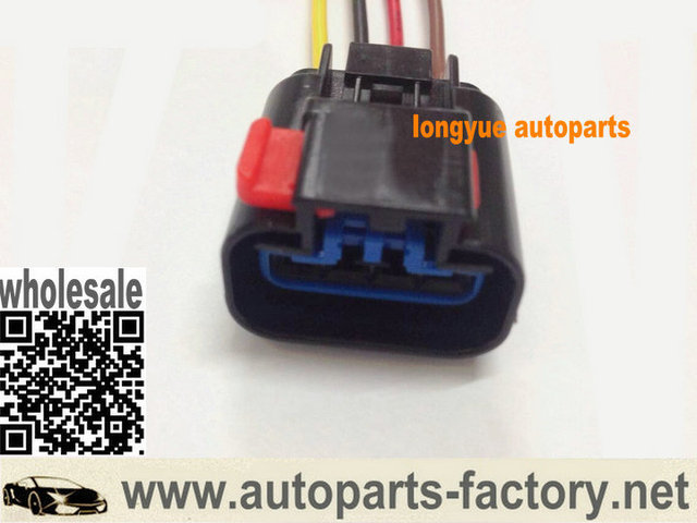 longyue 10pcs radiator fan relay connector pigtail case for 2003 jeep grand  cherokee 4 7l v8 universal electrical-connector 8