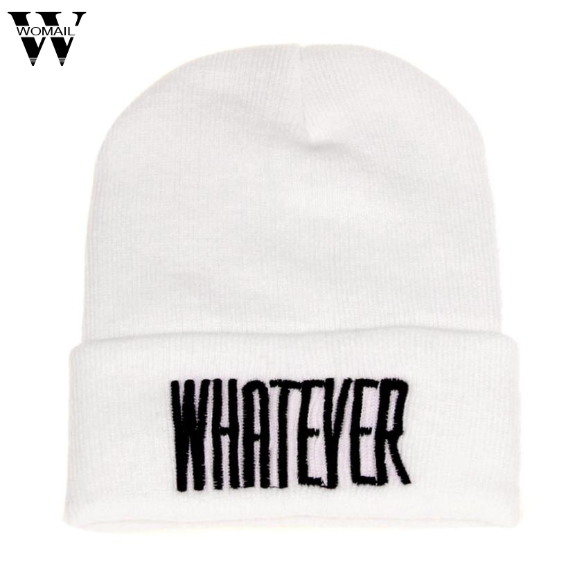 JY 20 Fairy Store 2016 Hot Selling  Winter Black Whatever Beanie Hat And Snapback Men And Women Cap drop shipping shocking show 2016 new design winter black whatever beanie hat and snapback men and women cap