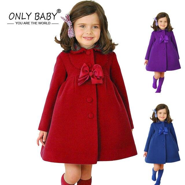 80724c5474204 2018 nouveau hiver enfants filles rouge manteaux bébé filles Elsa princesse  Sofia robe fille enfants robes