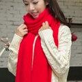 Frete grátis novo 2016 moda malha cachecol mulheres cachecóis inverno espessamento longa feminina cachecol cachecol