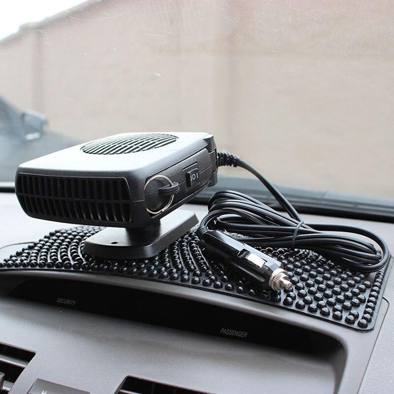 12 V 15 Watt Tragbare Auto auto heizung Auto Fan Auto Defroster Demister Fahrzeug Tragbare Temperaturregelung Gerät mit Schwarz farbe