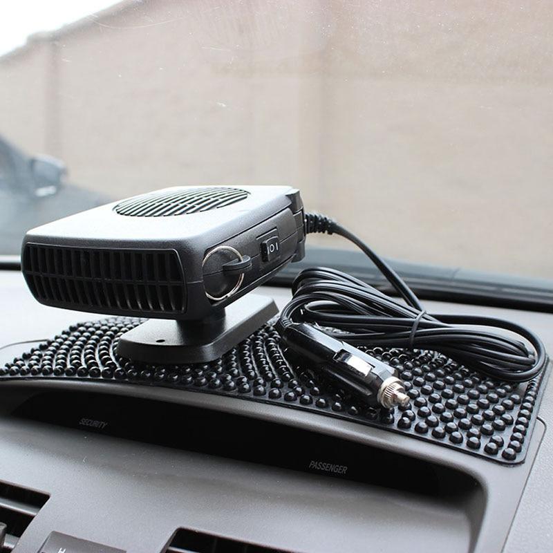 DC 12V 15W Portable Auto font b Car b font Vehicle Heating Cooling Heater Fan font