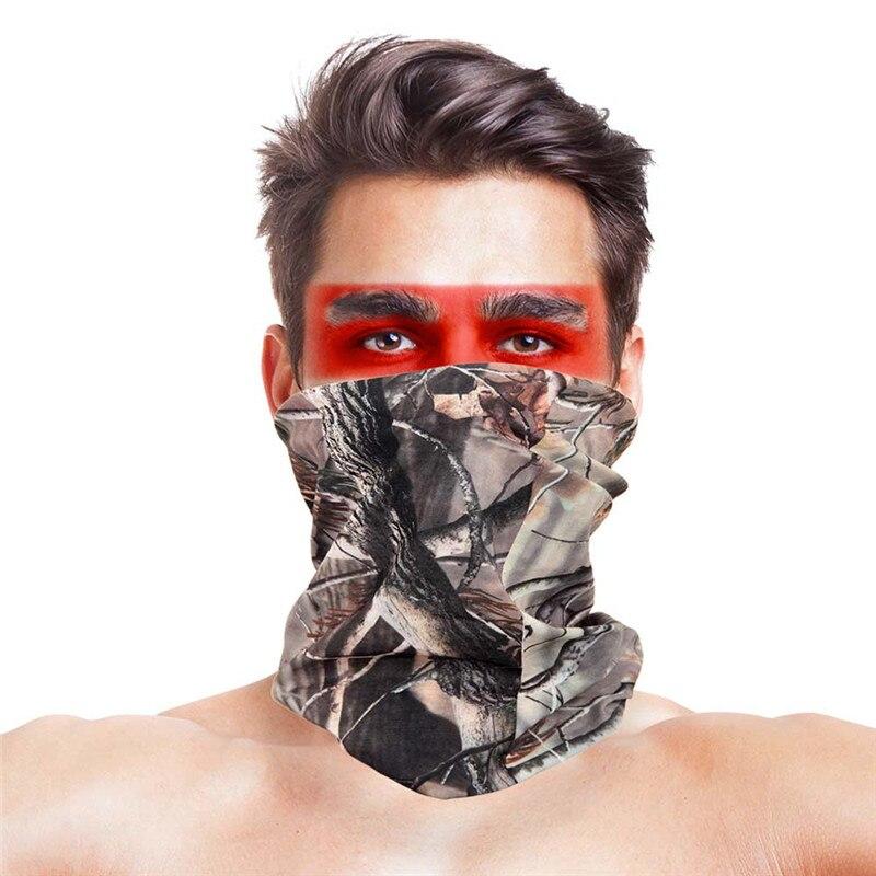 3D листья носовые платки с принтами Для женщин шарф полиэстер микрофибра шеи маска для лица бандана Для мужчин повязка-труба платок - Цвет: 001
