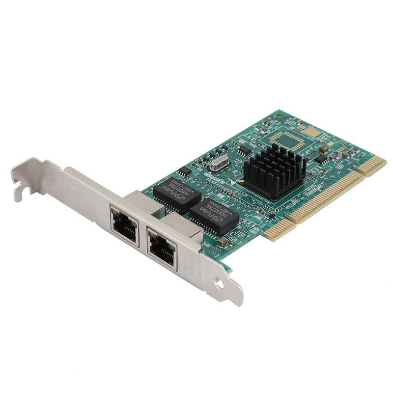 Pci 1000M Network Card For Intel 8492Mt 82546 Dual Port Gigabit Server Adapter