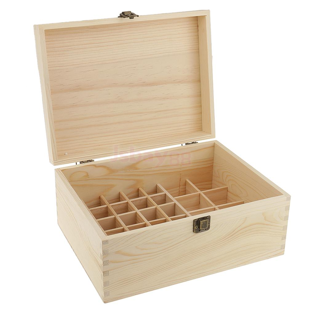 38 Slots Bottles Essential Oil Wooden Storage Box Display Carrying Case Organizer Holder spark storage bag portable carrying case storage box for spark drone accessories can put remote control battery and other parts