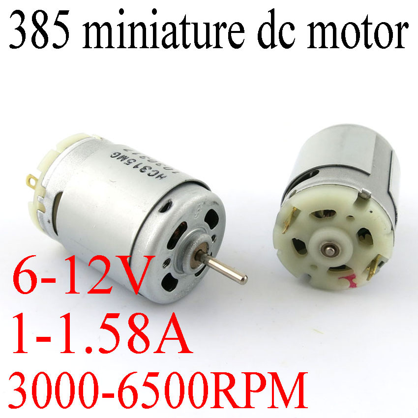 The latest high-speed tool motor DIY model 385 micro DC motorsThe latest high-speed tool motor DIY model 385 micro DC motors