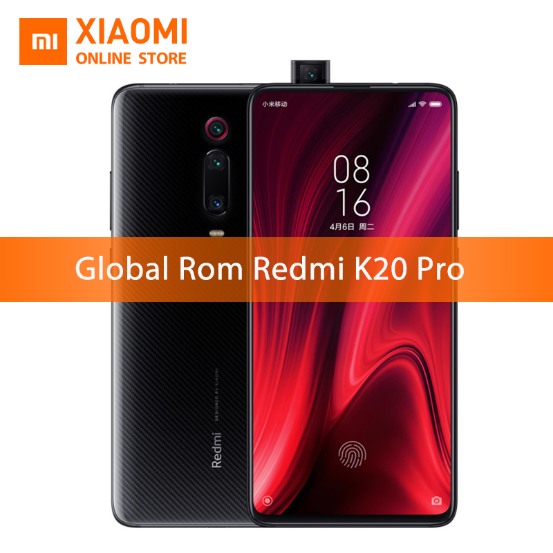 "Global Rom Xiaomi Redmi K20 Pro 8GB 256GB Smartphone Snapdragon 855 Octa Core 48+20MP Camera 6.39""AMOLED Full Screen 4000mAh"