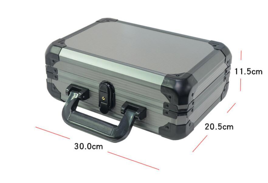 Nouveau 200-400 pièces Casino Texas Poker puces capacité valise noir Jack Pokerstars conteneur étui/boîte épaisse valise en aluminium