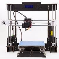 3D Printer Prusa i3 Reprap MK8 DIY Kit MK2A Heatbed LCD Impresora 3d Germany UK,USA No tariff