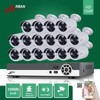 ANRAN 16CH HDMI 1080N DVR 16PCS 720P Outdoor D N Home Surveillance CCTV Security Camera System