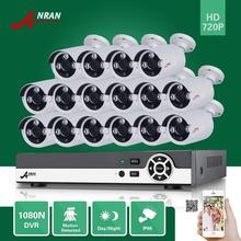ANRAN 16CH HDMI 1080N AHD DVR 16PCS 720P Outdoor Waterproof Array IR Day Night Camera Home Surveillance CCTV Security System
