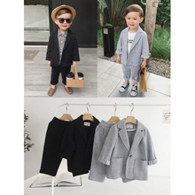children suit baby boy velvet suits childrens costume wedding dress boys formal tailor-made kids casual blazer