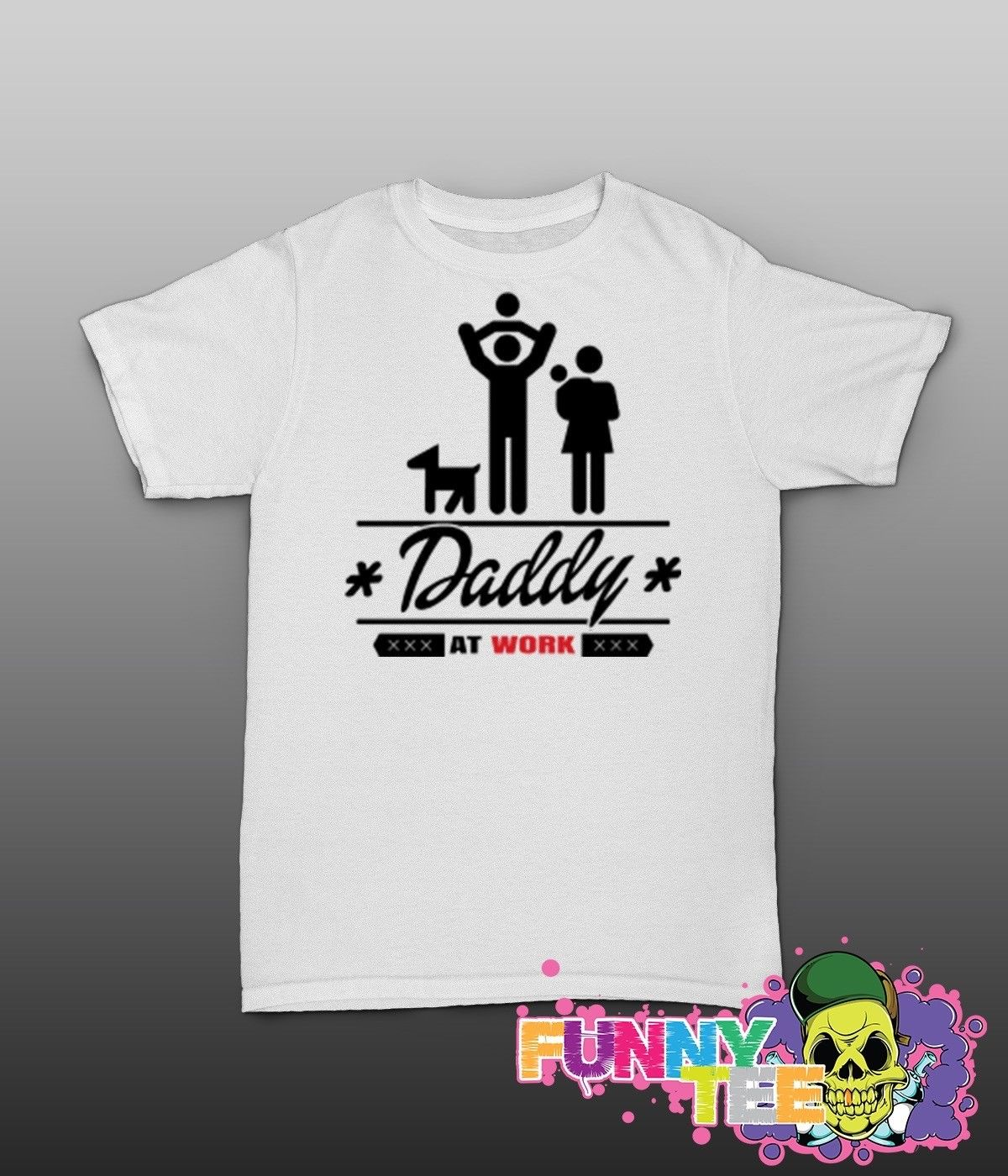 Online Shop 2018 Summer Fashion Hot Daddy T Shirt 01215 Sauftour