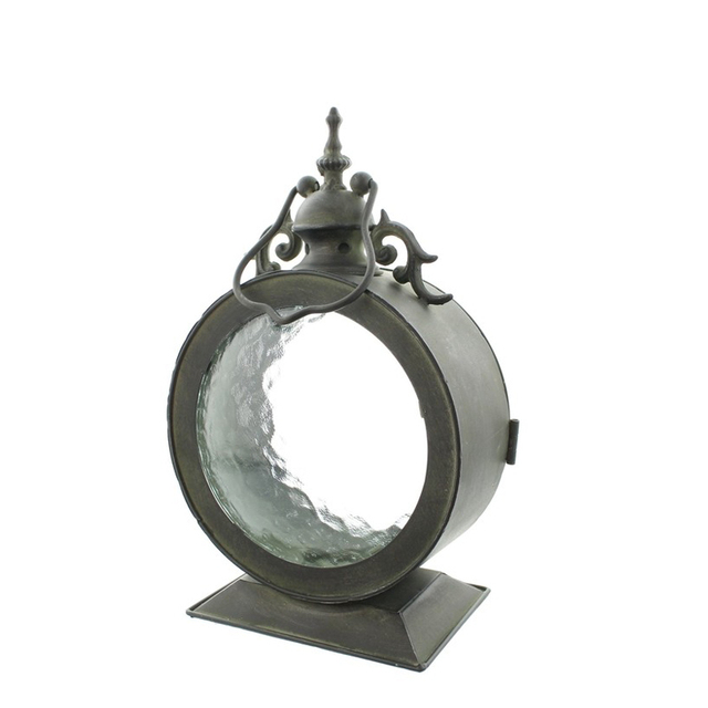 Metal Glass Candle Holder Lantern Mawgie