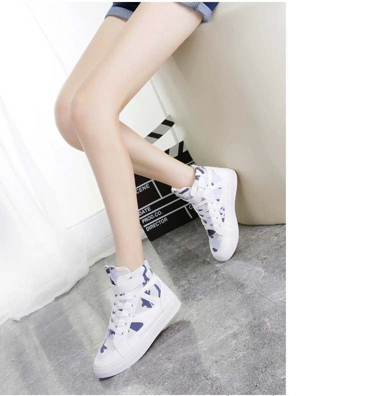 LOVE Fashion High Top Casual Shoes For Women Canvas Shoes 2015 New Autumn Ankle Boots Breathable Ladies Shoes Student Flats YD28 (11)