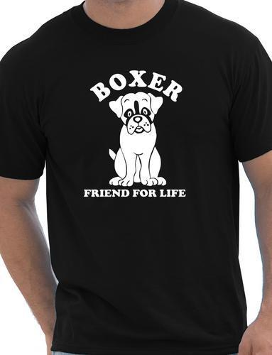 Boxer Dog Lover Pet Mens T-Shirt Gift Size S-XXL