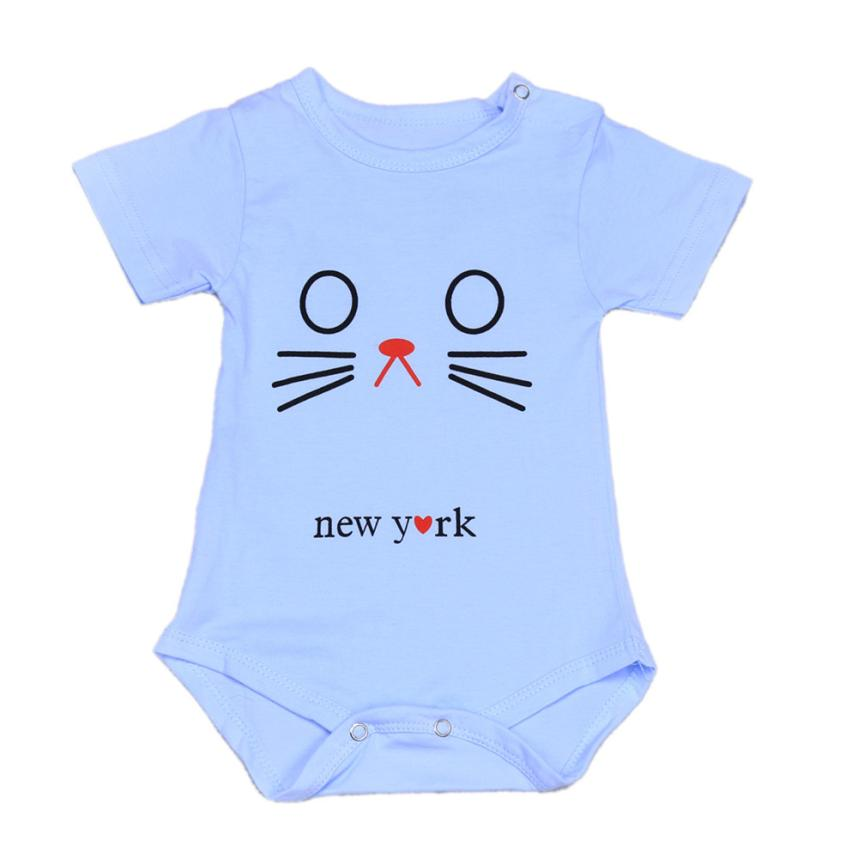 Newborn Uni Infant Baby Short Sleeve esie Romper