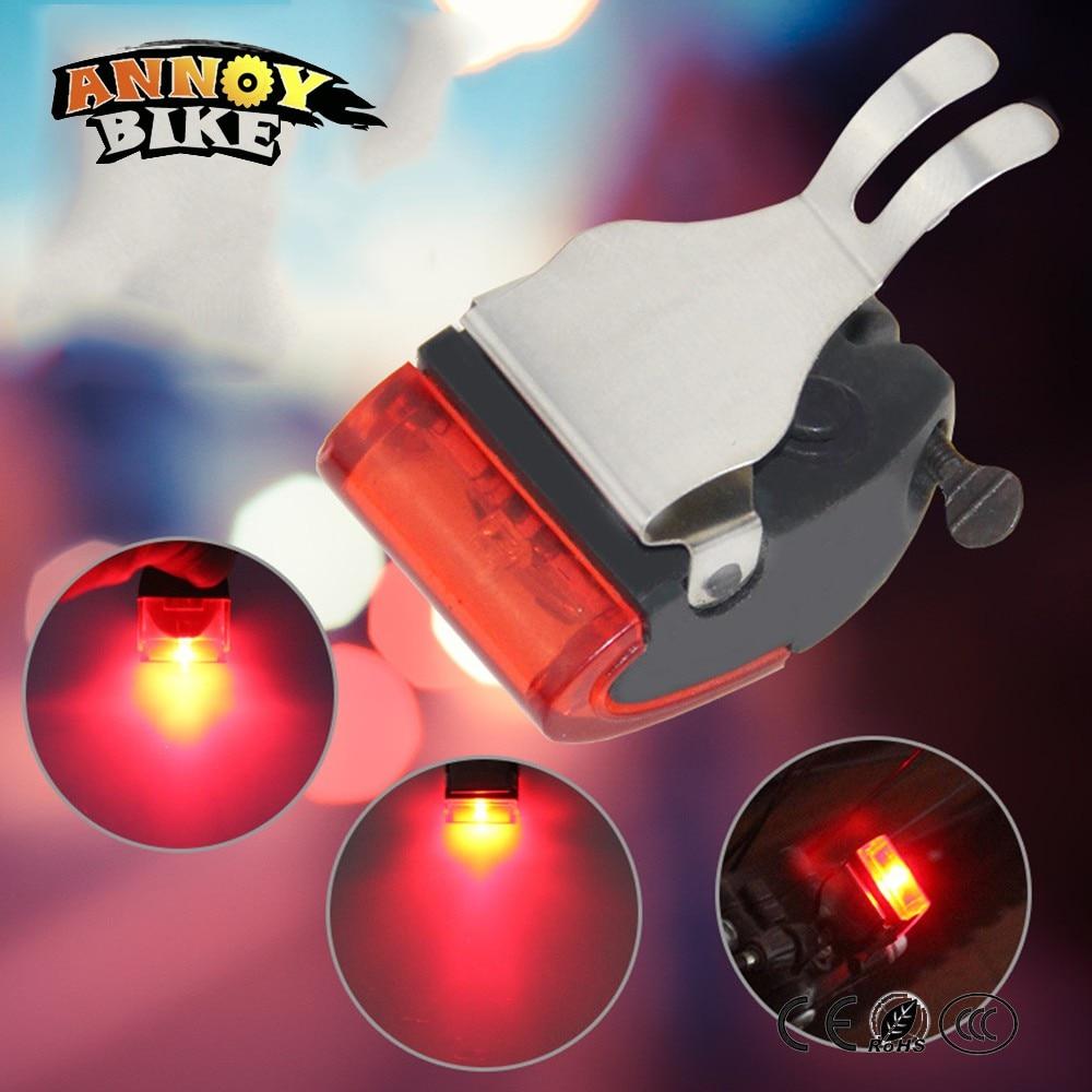 Портативный велосипедный мини стоп светильник, задний фонарь для велосипеда, предупреждающий светодиодный светильник высокой яркости, водонепроницаемая красная светодиодная лампа|Велосипедная фара|   | АлиЭкспресс