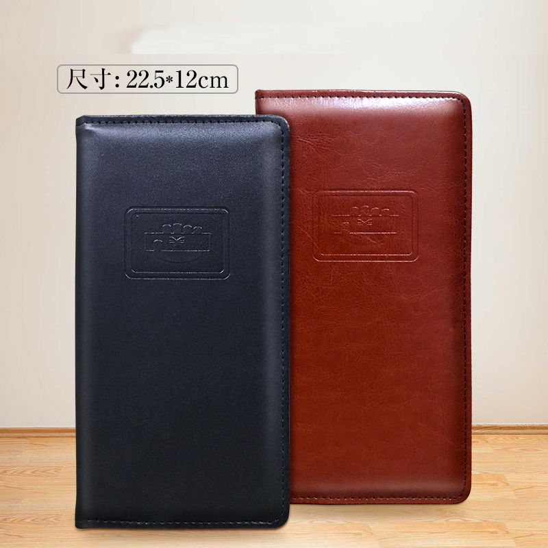 Leather File Folder Hotel Restaurant Menu Folder Coffee List Cash Clip Accounts Recording Clamp Notepad Hotel Supplies 1196