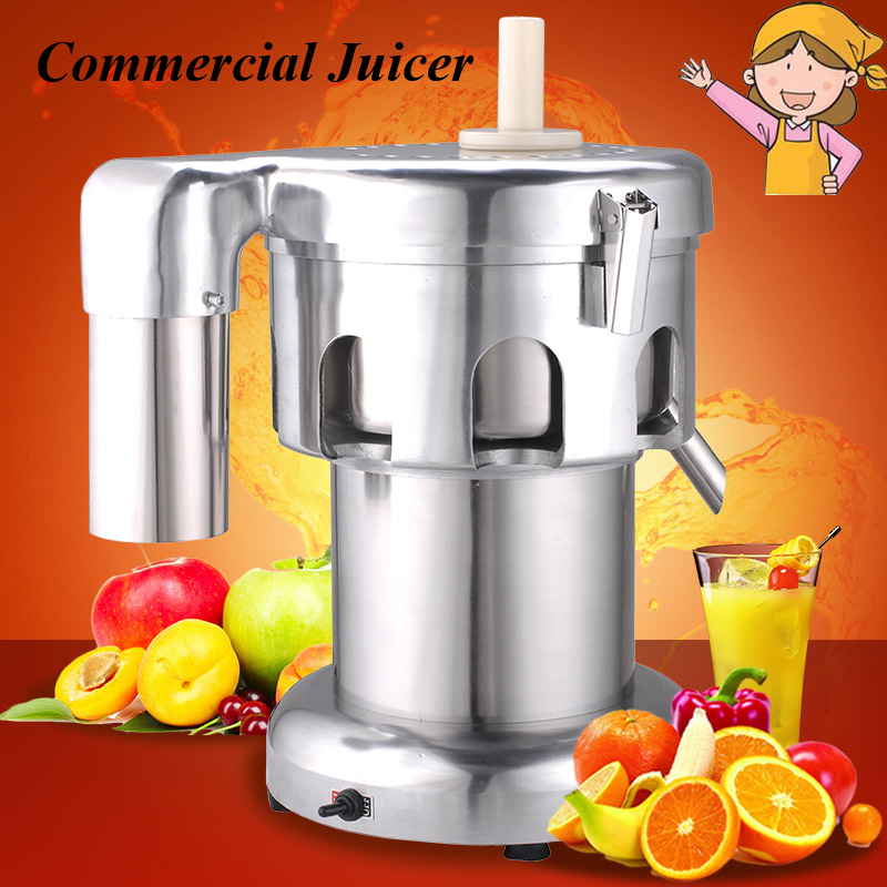 Commercial Juicer Hot Juice Extractor Stainless Steel Fruit Press Fruit Press Squeezer A2000 2016 stainless steel automatic slow juicer electric fruit juice machine cold press extractor squeezer of kitchen appliances