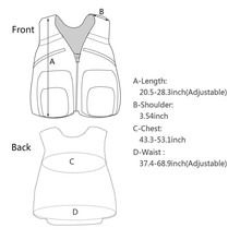 Maximumcatch G-mesh Fly Fishing Mesh Vest Adjustable Mutil-Pocket Packs & Detachable Floatation Cushion Fishing Vest