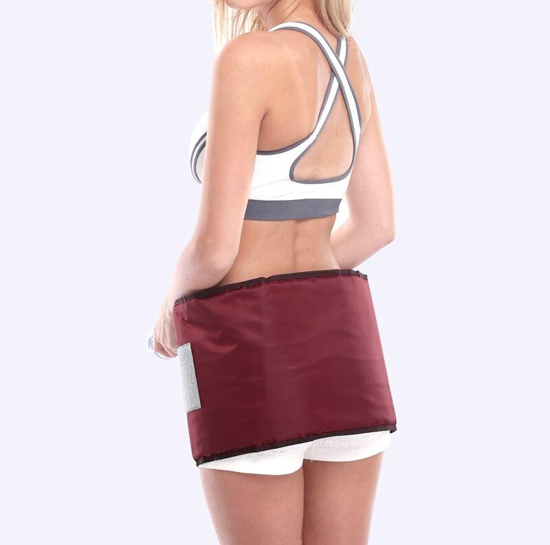 Far infrared massage belt slimming belt thermal electric heating Moxibustion waist support belt Thin thighs Thin