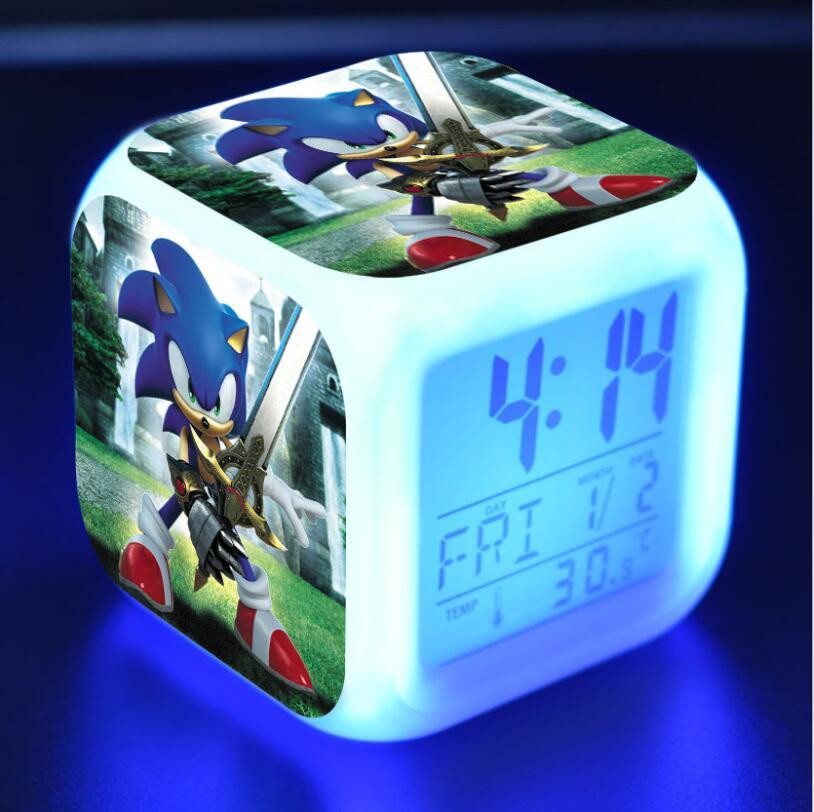 Sonic The Hedgehog LED Cube Alarm Clock 11