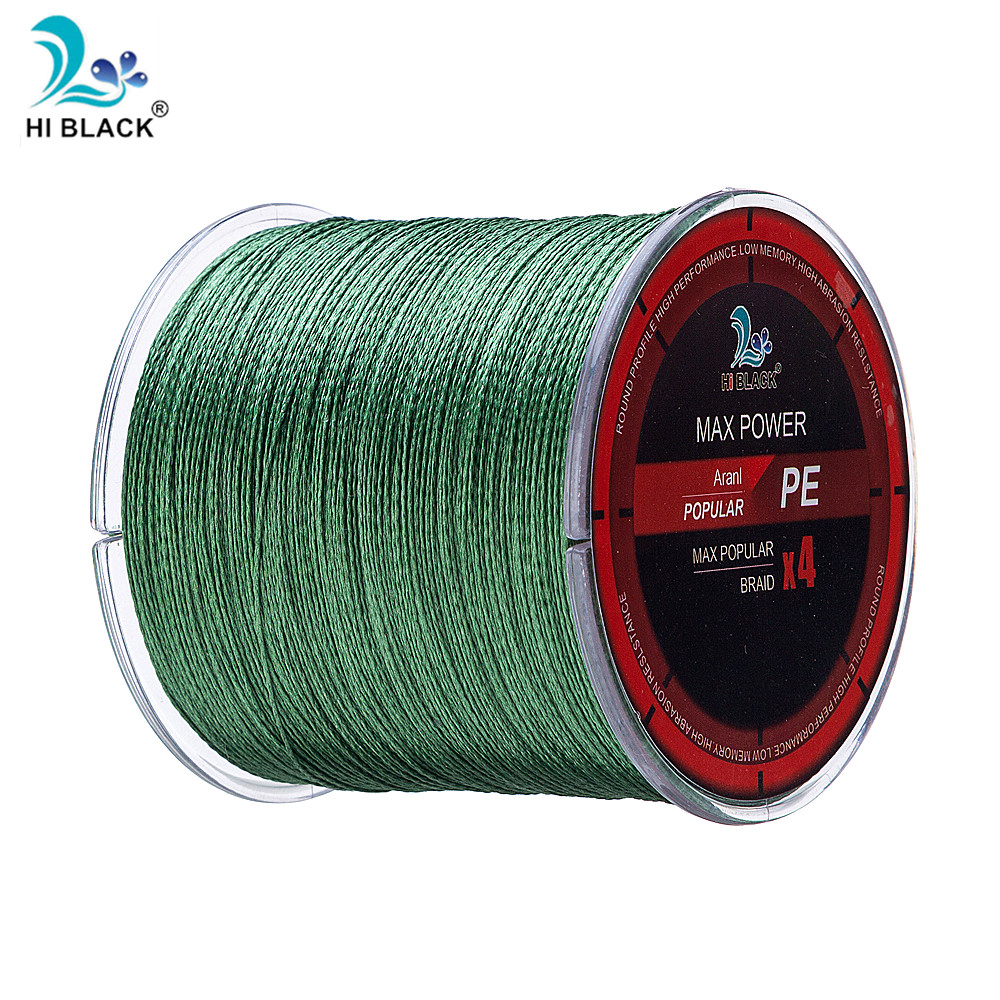 2019 1PC 300M PE Multi-filament Fish Line Braided Fishing Line Rope Cord 4 Strands Fishing Wire for All Fishing