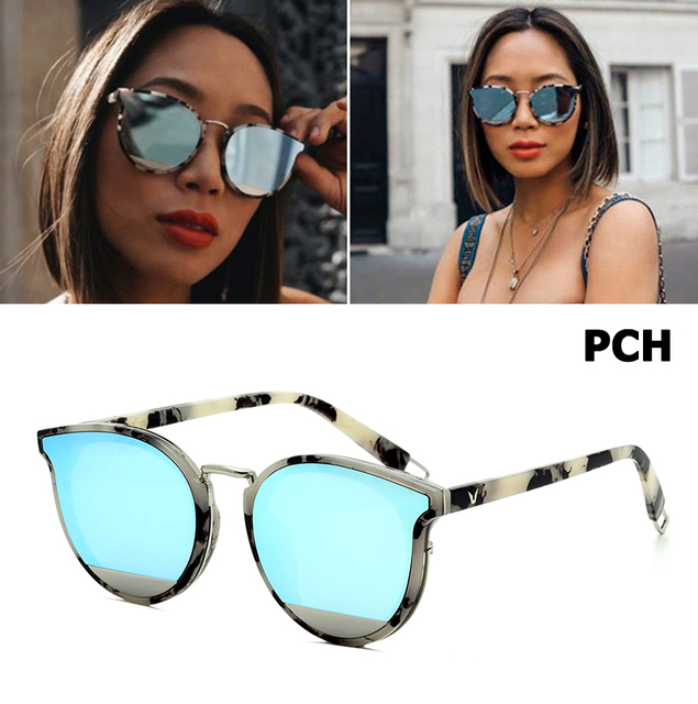 009c598cc2a JackJad 2018 Fashion Vintage Trend PCH Style Round Sunglasses Women Street  Snap New Brand Design Sun Glasses Oculos De Sol 1773
