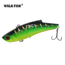 Walk Fish 9cm 28g Sinking Fishing Lure Winter Ice Fishing Hard Bait VIB Pesca Isca Artificial Bait Crankbait Swimbait