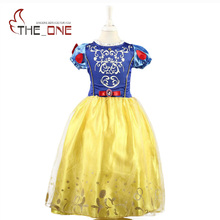 Girls Dresses Belle Princess Costume Dresses Children Cinderella Sleeping Beauty Rapunzel Cosplay Clothing Kids Party Dress