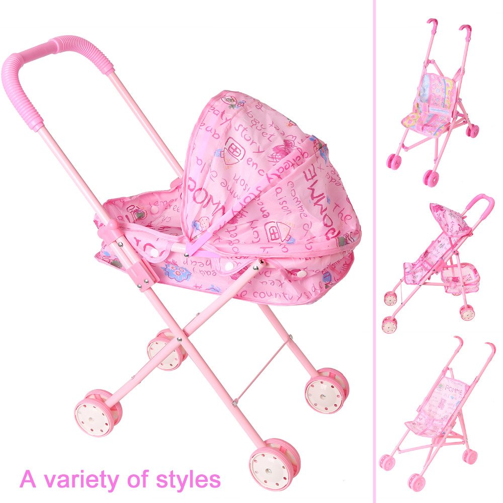 Dolls Accessories Barbie Carts My First Doll Twin Stroller