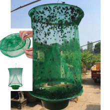 Health Pest Control Reusable Hanging Fly Catcher Killer Flies Flytrap Cage Net Trap Garden Home Yard Supplies