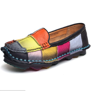 Colors Casual Shoes Flats Hand