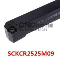 SCKCR2525M09/ SCKCL2525M09 Metal Lathe Cutting Tools Lathe Machine CNC Turning Tools External Turning Tool Holder S Type SCKCR/L|Turning Tool| |  -