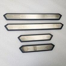 цена на for toyota rav4 rav 4 xa50 2019 2020 accessories parts car door sill Scuff Plate Welcome Pedal Threshold trim cover