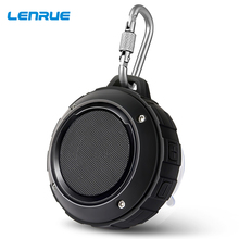 цена на Outdoor Portable Wireless Bluetooth Speaker Waterproof Mini Hook Speakers Stereo Music Bass Speaker HandFree Loudspeaker F4