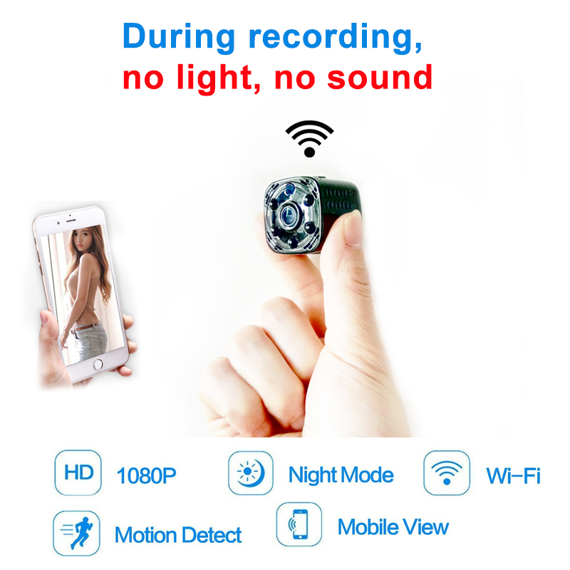 Automatic Night Version Wifi Mini Camera Wireless 1080P for Motion Detectiom Video Recording Remote Control Portable Recorder invisible night version wifi ip mini camera wireless 1080p for video recording support remote control portable recorder pk q7