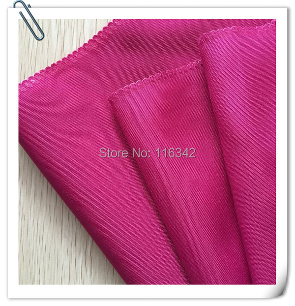 Factory Price Factory Price! 100pcs 50cm*50cm Hot Pink Wedding Napkins Cloth Napkins/fabric table napkins Free Shipping MARIOUS