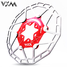 VXM 1 pc MTB Road Bicycle Disc Brake Cooling Floating Rotor 160mm 6 bolts disc brake pad for bicycle ultralight