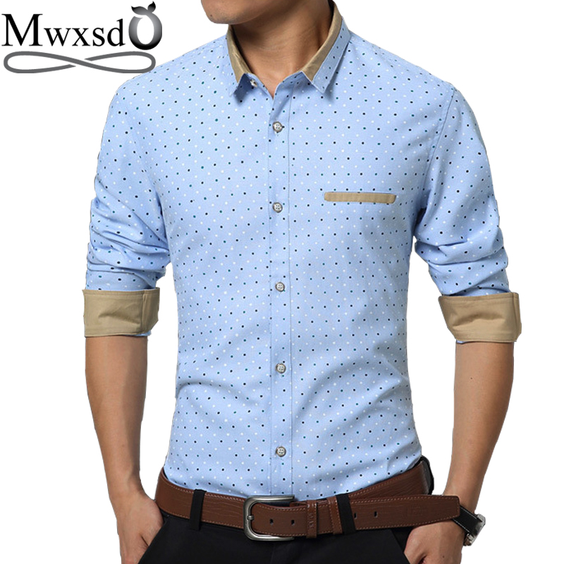 2f1a387a56a Mwxsd brand men casual linen cotton Shirt summer mens slim fit soft Long  Sleeve shirts chemise ...