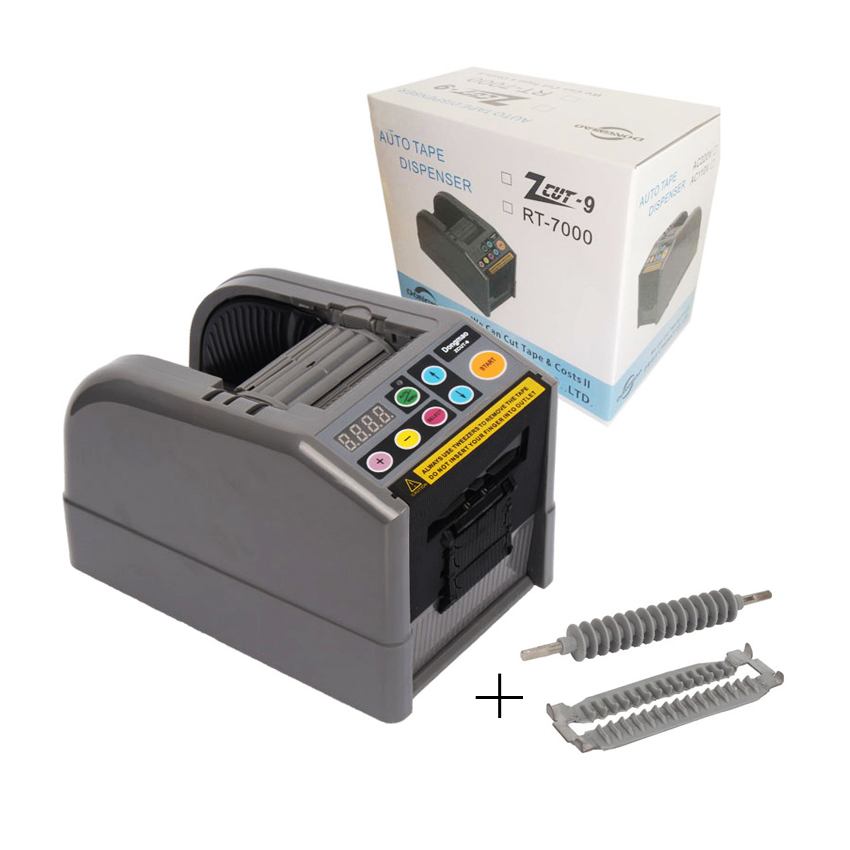 DongMao ZCUT-9 110V/220V Automatic Tape Dispenser 5-999 Auto Tape Cutter Cutting Machine nixon comp s