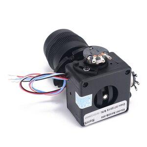 Image 3 - Elektronik 4 Axis Joystick Potansiyometre Düğmesi JH D400X R4 10 K 4D Denetleyici için Tel ile endüstriyel