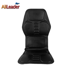 Acupressure Heated Massage Seat Cushion 3D Deep Kneading Pressing Rolling and Electric Vibrating Massage Full Back Relax Health стоимость