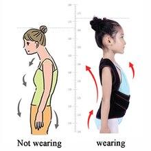 Humpback Correction Back Belt Posture Corrector Shoulder Spine Brace Support Corset For Kid Children Girl Boy Students