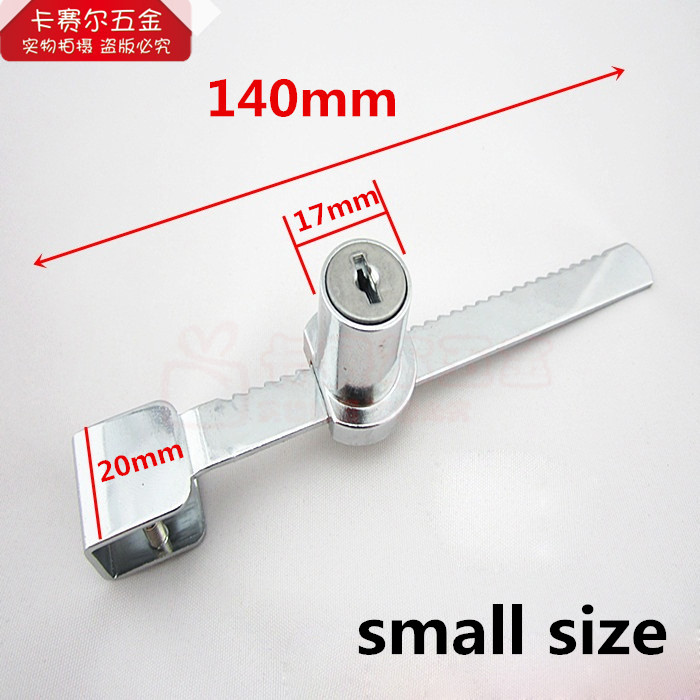 Small Size Vitrine Sliding Glass Door Lock Glass Cabinet Use With 2