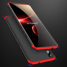 360 Degree Full Protection Case For VIVO X23 X 23 Cover shockproof case + glass film for