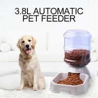 3,8l alimentador automático do animal de estimação gato do cão beber tigela água do cão beber gato alimentação grande capacidade de bebedouros gatos do animal de estimação e fazer