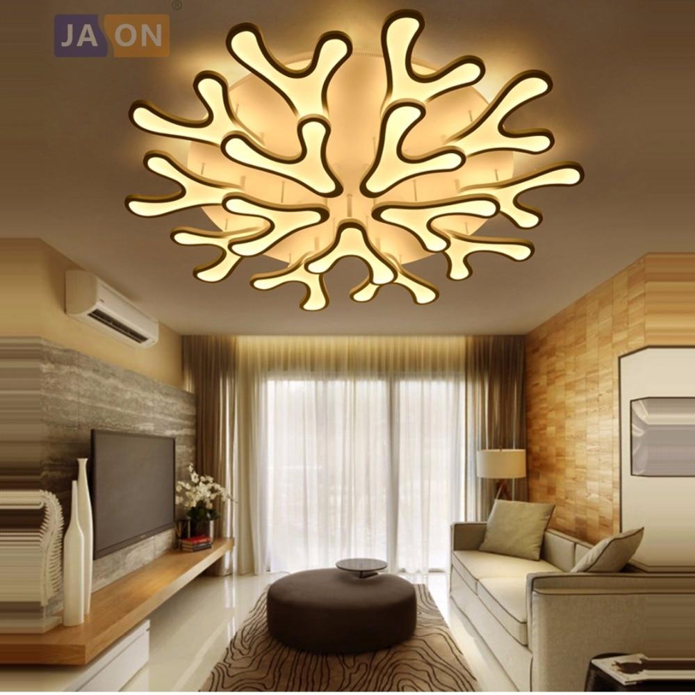 Ceiling Lights & Fans Led Modern Iron Acrylic Antler Led Lamp.led Light.ceiling Lights.led Ceiling Light Ceiling Lamp For Bedroom Foyer Ceiling Lights