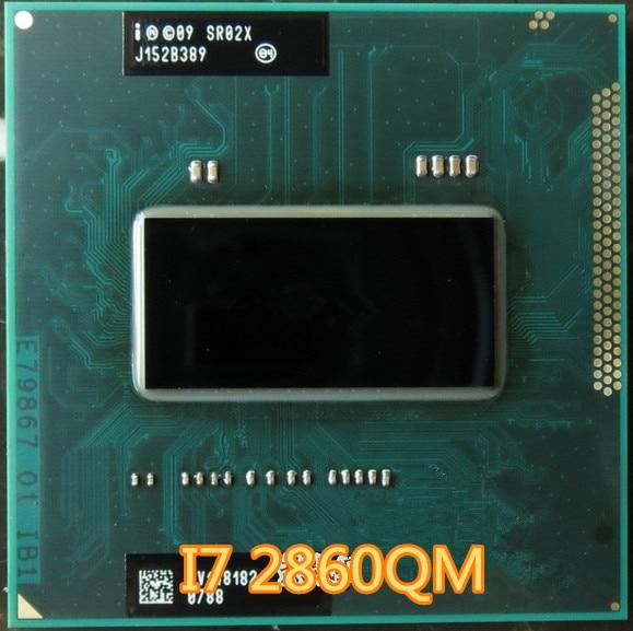Оригинальный процессор intel I7 2860QM 2,5G-3,6G 8M SR02X HM65 HM67 оригинальный официальный выпуск ноутбук I7-2860QM четырехъядерный i7 2860QM